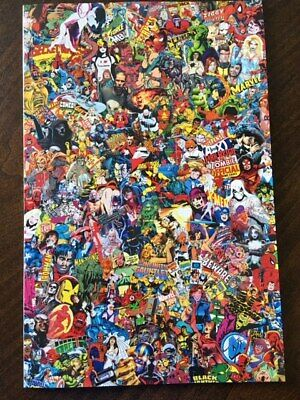 Marvel Comics #1000 COLLAGE Variant 1st print Historic KEY issue UNREAD