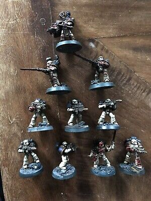 Warhammer 30k Chaos Space Marines World Eaters Army Forge World Marine Squad !!!