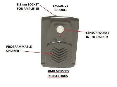 Scream Box Plus SENSOR Works in the Dark Programmable Speaker coffin animated