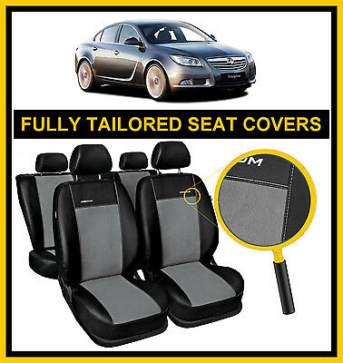 Fully Tailored Premium Seat Covers For Vauxhall Insignia 2008 - 2017 Leatherette