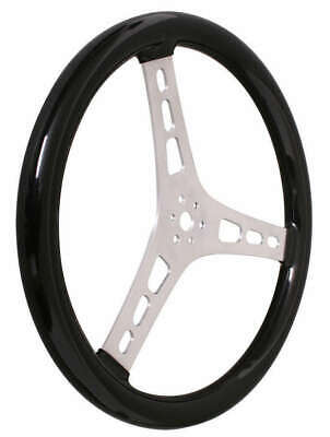 13513 C 13In Dished Steering Wheel Alum Rubber Coated