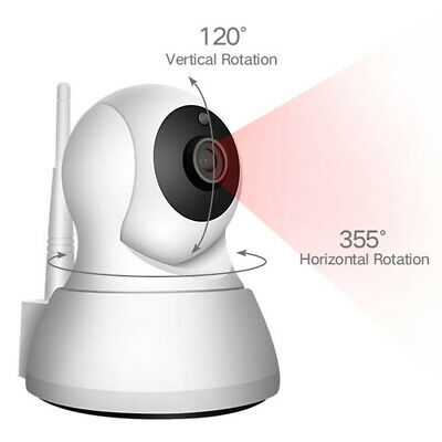 NEW Wireless HD 720P WiFi IP Camera Indoor Home Security Pet Baby Monitor Onvif