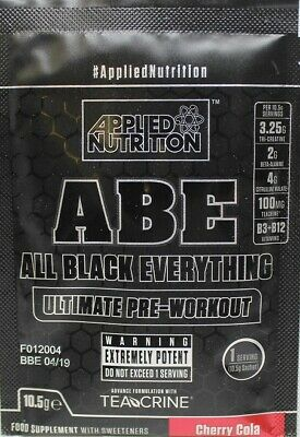 Applied Nutrition ABE - All Black Everything, Candy Ice Blast - 10g (1 serving)