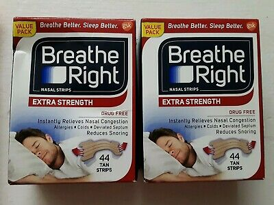 88 Breathe Right Extra Nasal Strips  *A1*