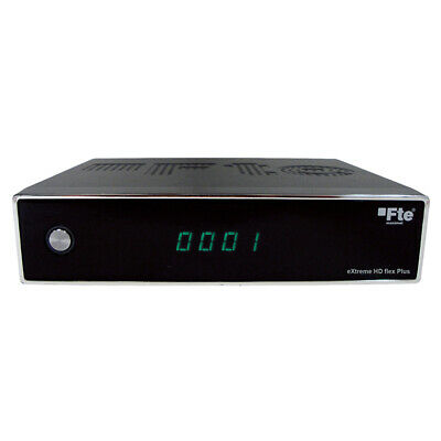 Decoder Digitale Satellitare HD FTE extreme HD flex Plus Funzione 12Vper Campeg.
