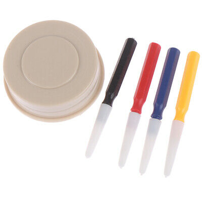 4 x Oiler Pen Needle With Oil Cup Watch Clock Repair Tool Kit For Watchmakers LY