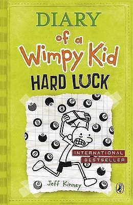 Hard Luck (Diary of a Wimpy Kid book 8), Kinney, Jeff , Good | Fast Delivery