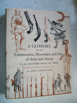 glossary, decoration and use of arms and armor book george cameron stone