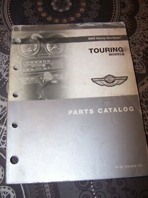 35 - Parts Catalog Harley Davidson Official Manual TOURING Models 2003