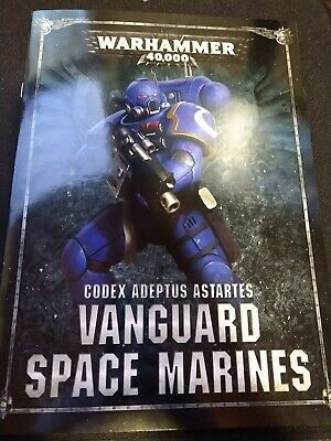 Warhammer 40k 8th Edition Codex Primaris Vanguard Space Marines from Shadowspear