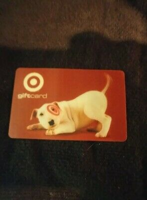 Target Bullseye Lenticular 2000 Event 0062 Gift Card No Value