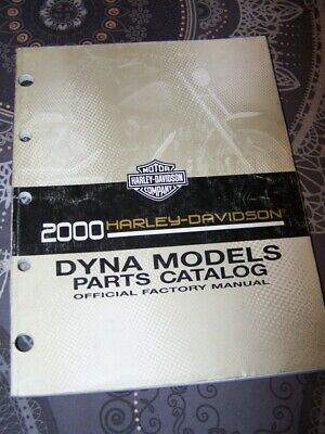 3C - Parts Catalog Harley Davidson Official Manual DYNA Models 2000