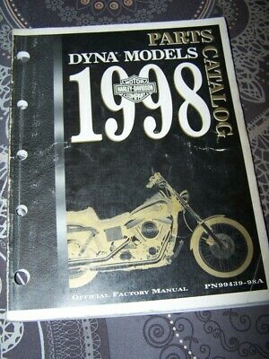 3F - Parts Catalog Harley Davidson Official Manual DYNA Models 1998