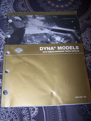 3G - Parts Catalog Harley Davidson Official Manual DYNA Models 2005