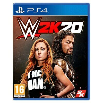 Wwe 2K20 Ps4 New Dispatching Today All Orders Placed By 2 P.m.