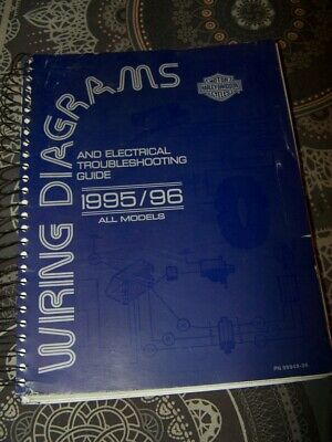 42 - Wiring Diagrams Electrical Troubleshooting Guide Harley Davidson 1995 1996