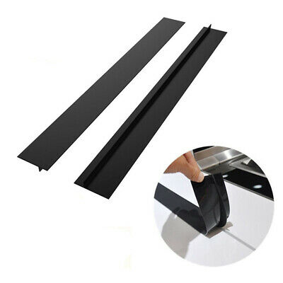 Am_ Rubber Heat-resistant Oilproof Stove Counter Gap Protector Cover Kitchen Gad
