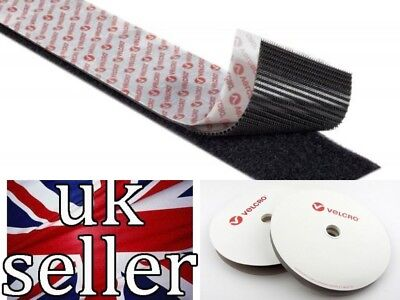 VELCRO® BRAND PS51 PS521 Heavy Duty self adhesive tape 50mm wide x 200mm length