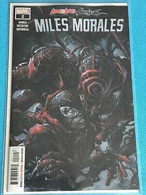 Absolute Carnage Miles Morales #2 NM Ahmed Vincentini Marvel Comics Book