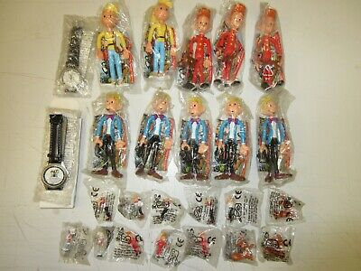 Job Lot; 25 Figures Advertising Images Spirou New on Blister: Quick 96/Leo95