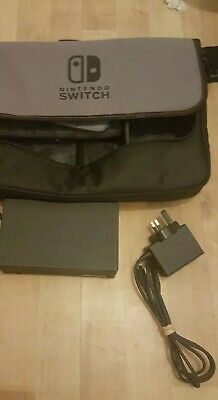 Official genuine nintendo Switch dock ac adapter carry case with HDMI cable