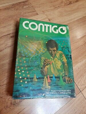 1974 CONTIGO Board Game by Minnesota Mining and MFG Co SEALED