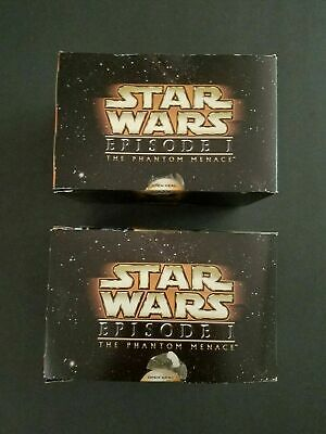 2- Box Star Wars Episode 1 Joking Jar Jar Binks - Promotional Taco Bell KFC