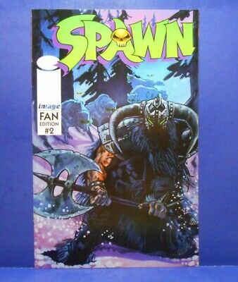 SPAWN - FAN EDITION (Overstreet) #2 of 3 1996 Image Uncertified TODD MCFARLANE
