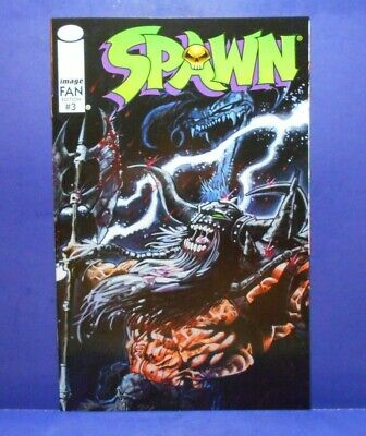 SPAWN - FAN EDITION (Overstreet) #3 of 3 1996 Image Uncertified TODD MCFARLANE