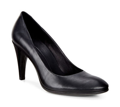 Details about ECCO Women's Shape 75 Sleek Mary Jane Black Suede High Heels Shoe size 40EUR9US