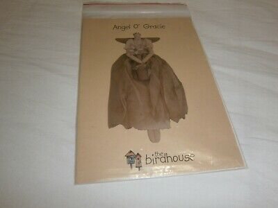 "The Birdhouse ""Angel O' Gracie"" Cloth Doll Pattern C 2002 - 52 Cms Tall"