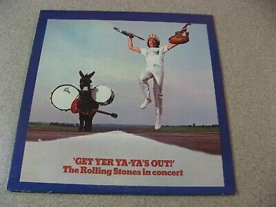 The Rolling Stones Get Your Ya Ya's Out London Nps-5 Ex/Ex