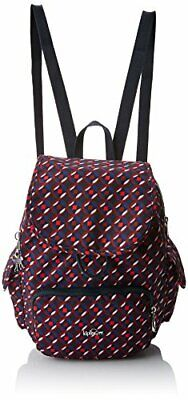 Kipling - City Pack S -  Sacs à dos - Femme - (Multicolore (Red Tile Print))