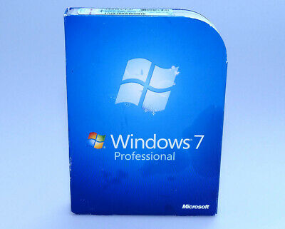Microsoft Windows 7 Professional Pro FULL VERSION FQC-00129 GENUINE retail