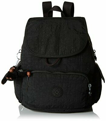 Kipling City Pack S, Sacs à dos femme, Noir (True Black),(Noir (True Black))