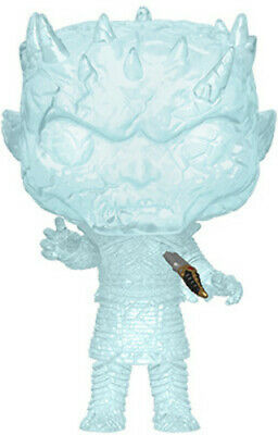 Game Of Thrones - Crystal Night King W/ Dagger In - Funko Pop! (2019, Toy NUEVO)