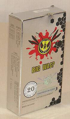Big Wasp Safety Cartridges, package of 20, tattoo equipment, NEW