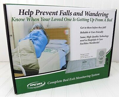 Smart Complete Bed Exit Monitoring System Fall Prevention Cargiver Aids