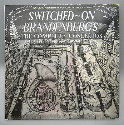 Switched-On Brandenburgs - The Complete Concertos, Wendy Carlos, 1980