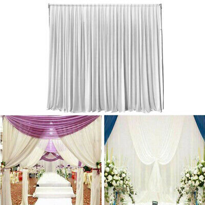 Cloth Prop DIY Decoration Party Stage Event Drape Panel Curtain Wedding Backdrop