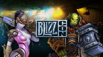 BlizzCon 2019 Ticket + Footman Statue (Experienced Seller) -TRUSTED EBAYER 100%