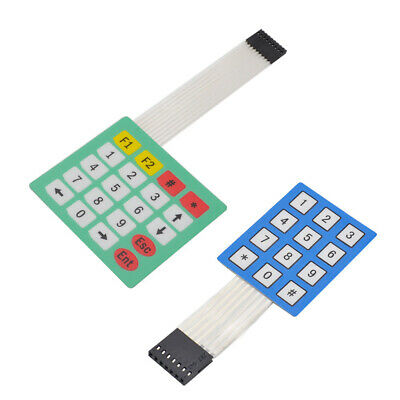 12 20 Key Button Membrane Switch 3x4 4x5 Keys Matrix Array Keyboard Keypad DA
