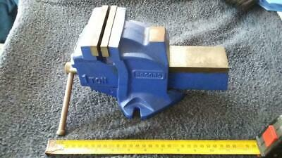 Record 1 Ton Vice.metalwork,shed,timber,house,sash,tools,workshop,garage,power.