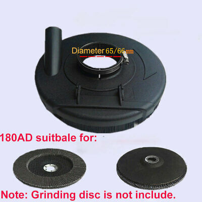 Dust Shroud  Dry Dust Grinding Cover for Angle Hand Grinder Clear 125/150/180mm