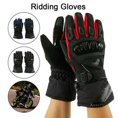 Winter Thermal Waterproof Motorcycle Motorbike Gloves Touch Screen Warm Knuckle