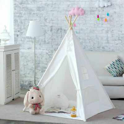 Kids Teepee  New Wigwam Childrens Play Tent Childs Garden/Indoor Toy Canvas