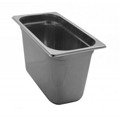 Pan Gastronorm Containers Stainless Steel Gn 1/3 Height 20 CM
