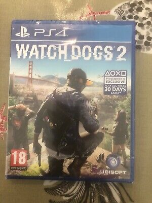 Watch Dogs 2: Deluxe Edition (PlayStation 4, 2016) Still In Packaging