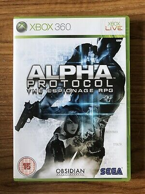 Alpha Protocol The Espionage RPG (Xbox 360) PAL