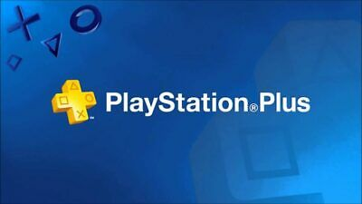 PS Plus Membership Subscription 12 Month PlayStation PS4-PS3-Vita [NO CODE] READ